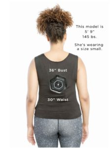 Coolweightloss vest image lady from behind size small